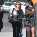 Robin Wright – Walk with her friends in West Hollywood - 454 x 617