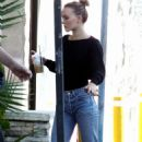 Lily Rose Depp – Leaving a LA grocery store - 454 x 667