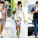 "Busy new mom Selma Blair relies on her wear-anywhere, practical Linea Pelle ""Dylan"" tote to help make stepping out of the house stylishly a no-brainer"