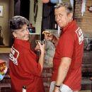 Allan Melvin and Ann B. Davis