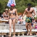 Stephanie Pratt – Bikini on holiday in Croatia - 454 x 488