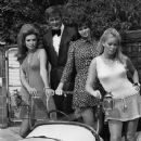 "Roger Moore, Veronica Carlson, Martha Hyer, ""Crossplot"" 1968"