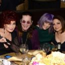 Ozzy Osbourne and his family attend the 56th pre Grammy gala on January 25th, 2014 - 454 x 316
