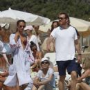 Alicia Vikander in Bikini on a yacht in Formentera July 6, 2017