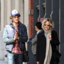 Meg Ryan and her son Jack Quaid out and about in New York City on October 04, 2015 - 454 x 467