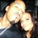 Dre and Christina Milian