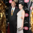 Dita von Teese attending 'Feu' directed by Christian Louboutin VIP Premiere at Le Crazy Horse in Paris
