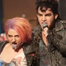 Annaleigh Ashford and Adam Lambert