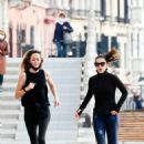 Hayley Atwell – Pictured while jogging in Venice