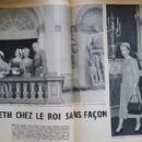 Queen Elizabeth II - Paris Match Magazine Pictorial [France] (1 June 1957) - 454 x 301