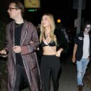 Nicola Peltz and Justin Campbell – Attend Drake's Birthday Party at 'Delilah' in West Hollywood