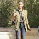 Jada Pinkett Smith – Out and about in Los Angeles - 454 x 681