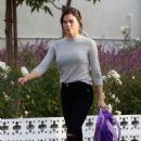 Jenna Dewan – Shopping Christmas Tree in Encino