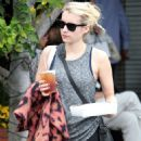 Emma Roberts – Picking up Some Food to Go in West Hollywood 10/23/ 2016