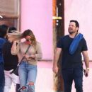 Hilary Duff – In jeans out in Los Angeles