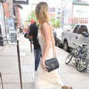 Amber Heard at Emilio's Ballato in New York - 454 x 568