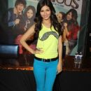 "Victoria Justice attended the ""VicTorious"" soundtrack CD signing at the Hard Rock Café at Universal City Walk on Monday (June 11)"