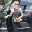 Ashley Tisdale at Saks Fifth Ave for some shopping in Beverly Hills