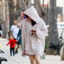 Ariel Winter in Largest Sweater – Out in Studio City