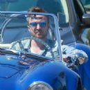 Aaron Paul was spotted cruising around West Hollywood, California on April 4, 2016