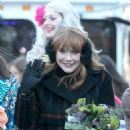 Bryce Dallas Howard – Harvard's Hasty Pudding Woman of the Year Parade in Cambridge - 454 x 681