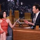 Lucy Hale on 'The Tonight Show Starring Jimmy Fallon' in NY