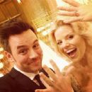 Brian Gallagher and Megan Hilty Wed Pic November 2, 2013 - 454 x 340