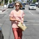 Ali Larter: out running some errands in Beverly Hills