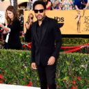 Lenny Kravitz-January 25, 2015-21st Annual Screen Actors Guild Award Arrivals