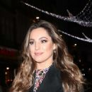 Kelly Brook – Exits Heart Radio in London