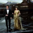 Neil Patrick Harris and Anna Kendrick At The 87th Annual Academy Awards - Show (2015) - 454 x 302