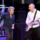 Roger Daltrey & Pete Townshend perform  on the first night of the band's residency at The Colosseum at Caesars Palace on July 29, 2017 in Las Vegas, Nevada - 454 x 353