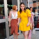 Liana Liberato Haley Ramm and Brianne Tju – Leaving Build Series in NY