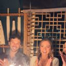 Daniel and Julia at her 29th birthday party at Baku restaurant  in Charlotte - 454 x 807