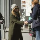 Jenna Louise Coleman – Films her new drama 'The Cry' in Glasgow