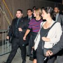 Melissa Benoist at 'Jimmy Kimmel Live'