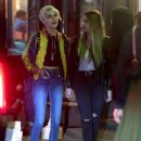 Cara Delevingne and Ashley Benson – Leaves Lucky Strike in New York - 454 x 587