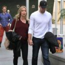 Emily Blunt and husband John Krasinski out for a movie date at the Arclight Cinemas in Hollywood, California on January 4, 2014 - 432 x 594