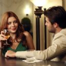 Josh Bowman and Elena Satine