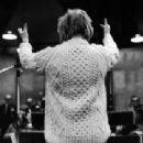 "Kaye, Conducting the pit orchestra of ""Two By Two"" 1970"
