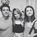 Maia Mitchell and John DeLuca