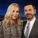 Charlize Theron at Jimmy Kimmel Live! in Los Angeles - 454 x 681