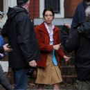 Aubrey Plaza – On the set of 'Chucky' in Vancouver - 454 x 682