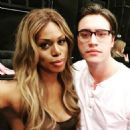Laverne Cox and Ryan McCartan