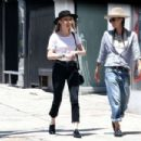 Amber Heard and Tasya Van Ree shopping in Hollywood - 454 x 303