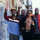 Chris Rock, J.B. Smoove, Lance Crouther and Mario Joyner in Paramount's Pootie Tang - 2001