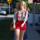 Mischa Barton Filming Reality Show In Los Angeles