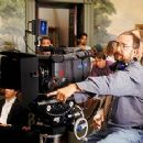 Director Barry Sonnenfeld on the set of Warner Brother's Wild Wild West - 1999