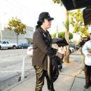 Gene Simmons is seen in Los Angeles, California - 450 x 600