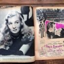 Veronica Lake - Movies Magazine Pictorial [United States] (February 1945) - 454 x 340